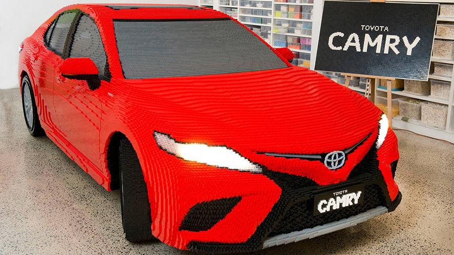 令人驚訝的細緻!超過50萬片樂高打造的Toyota Camry!