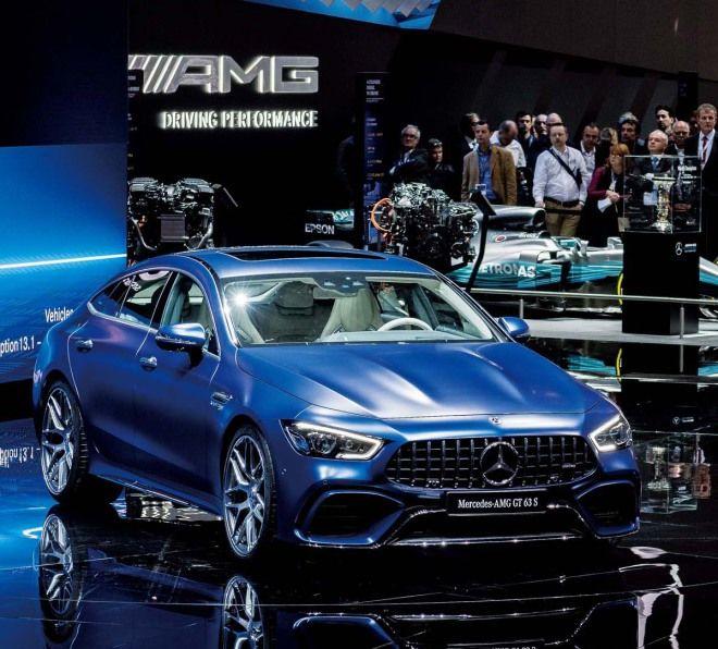 最速四門車型預定Mercedes-AMG GT 4 Door Coupe