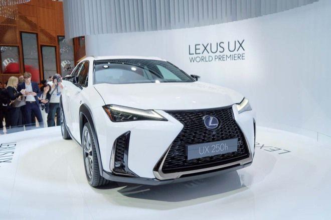 重量級CUV生力軍Lexus UX