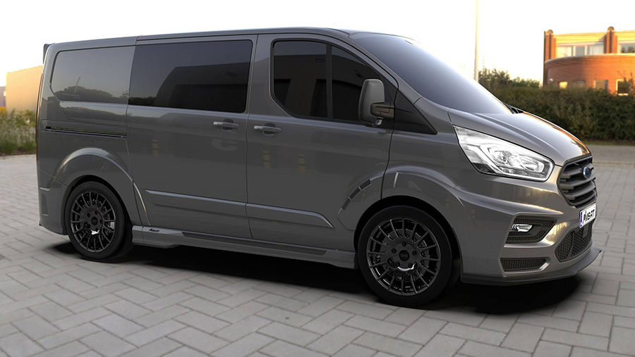 MS-RT將Ford旅行家改造成兇惡系商用貨車啦!