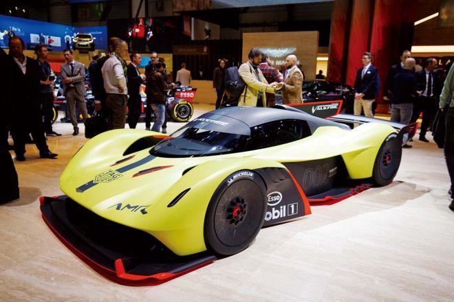 賽道限定女武神 Aston Martin Valkyrie AMR Pro最大馬力可以到1000hp