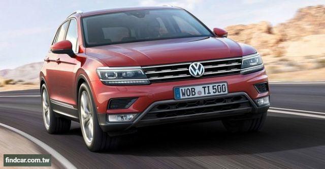 2018年04月 VW 福斯全車系中古車行情表