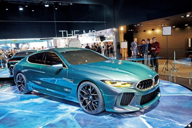 M Car之王BMW M8 Gran Coupe Concept