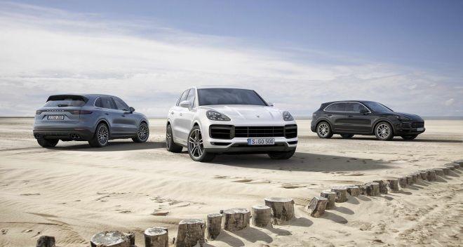 Porsche Cayenne 三代目上市