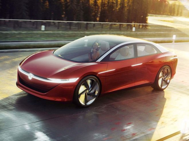 Level 5自動駕駛的實踐VW I. D. Vizzion Concept