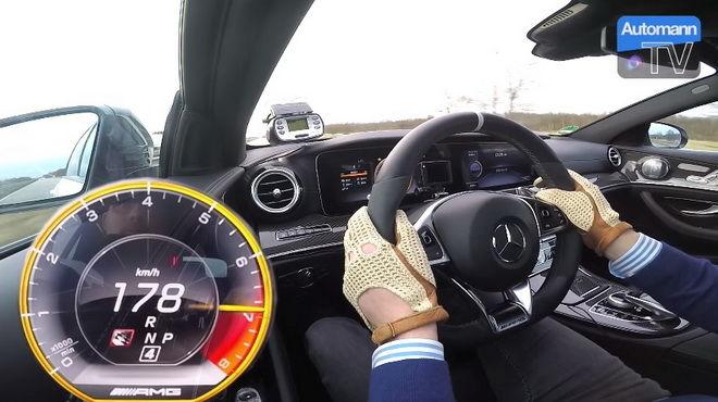 快到嫑嫑的 本星球最速原廠旅行車 Mercedes-AMG E63 S 0- 200km/h 11.4秒!!!0