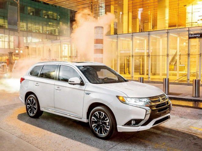 Mitsubishi Outlander PHEV發電機、馬達與鋰電池同步升級