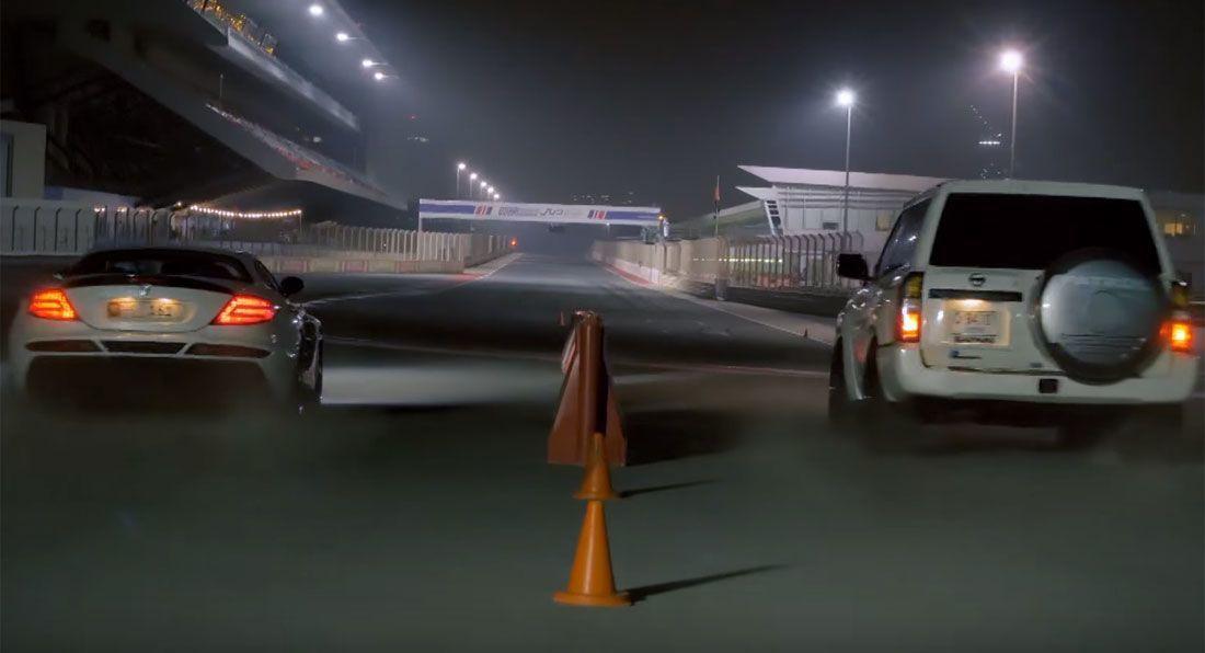 披上GT-R的VR38DETT戰袍,這輛3-door Nissan Patrol完全「屌打」SLR McLaren!