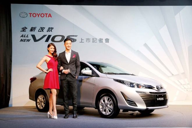 VSC、TRC、七氣囊上身 小改款Toyota Vios