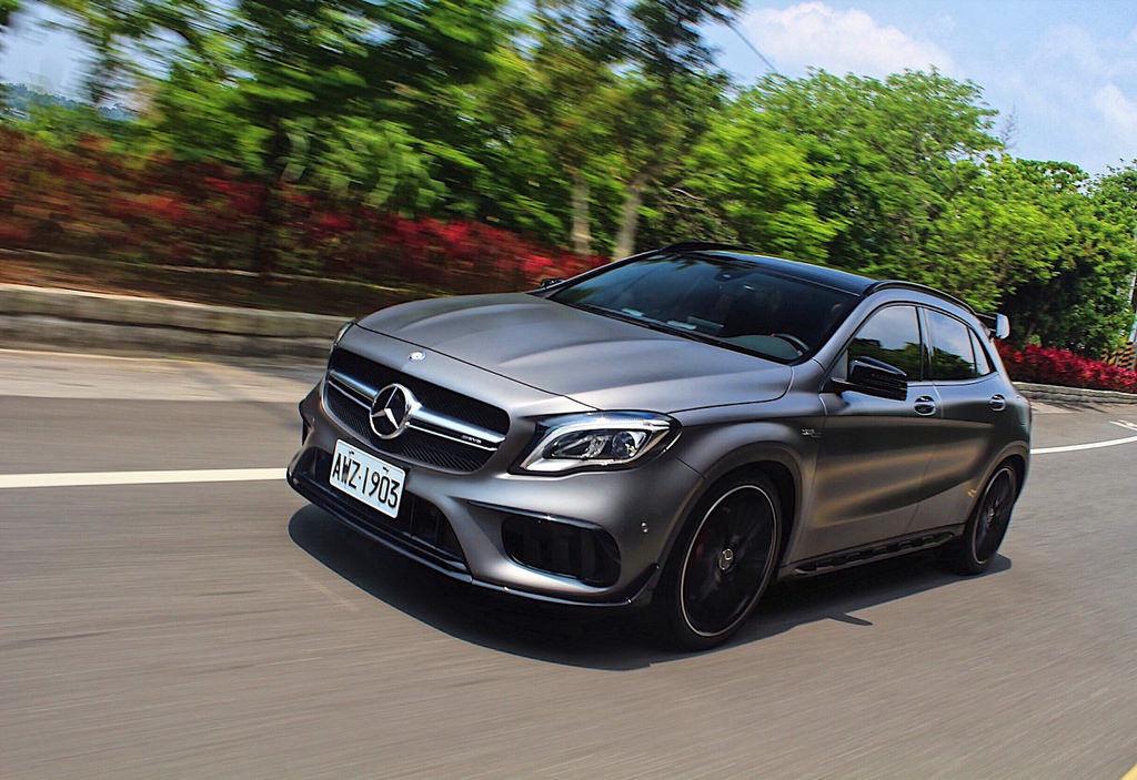 「精煉動力 轟炸381hp最大輸出」Mercedes-AMG GLA45 4MATIC試駕(動力單元)
