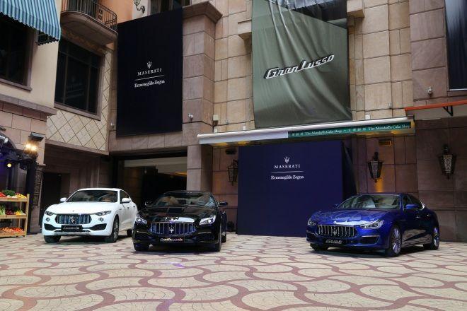 蠶絲入料 彰顯雍容__Maserati GranLusso Zegna Edition