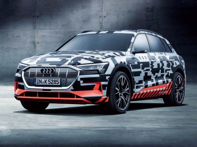品牌首發電動LSUV暖身作Audi e-tron Prototype