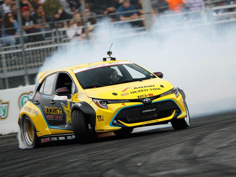 1,000匹馬力Toyota Auris甩尾車!前驅怎麼甩呀?