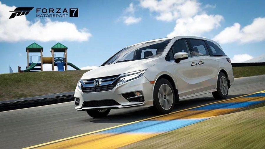 戰力被肯定?Forza Motorsport 7遊戲新增Honda Odyssey