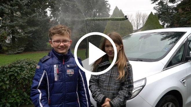 「雨」你同行 ─ 德國環保神童打造最具創意的汽車雨刷水