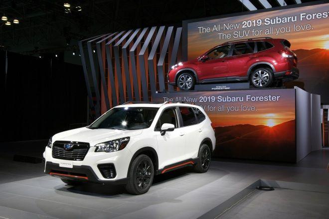 Subaru Forester  躍昇叢林之王