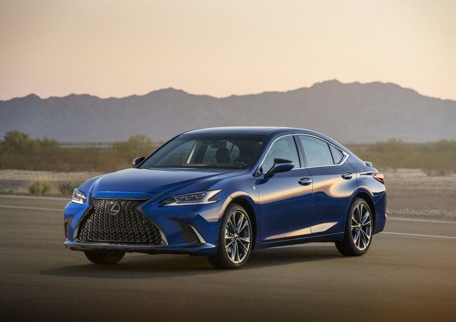 外型與LS車系看齊!Lexus發表第七代ES車系