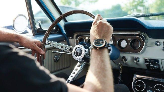 每分每秒都是野馬的味道:以經典Ford Mustang零件精雕細琢的高級腕錶