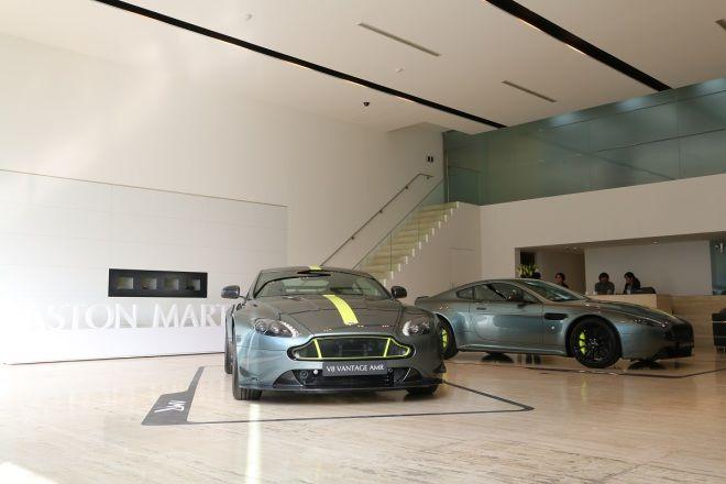 終極珍藏版出爐!Aston Martin Vantage AMR