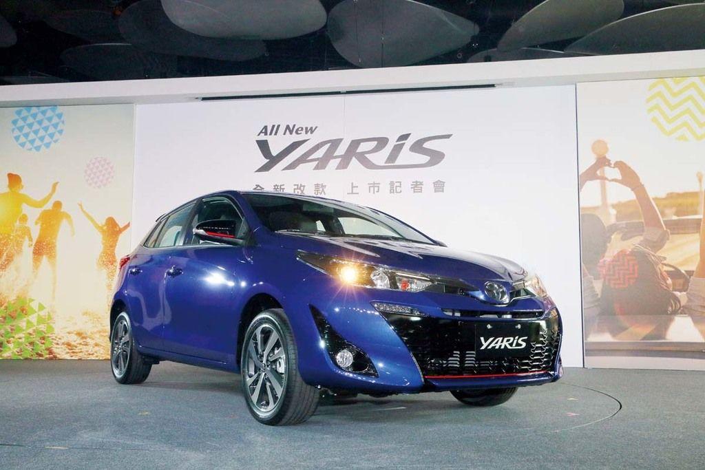 全車系標配VSC、TRC、HAC 小改款Toyota Vios
