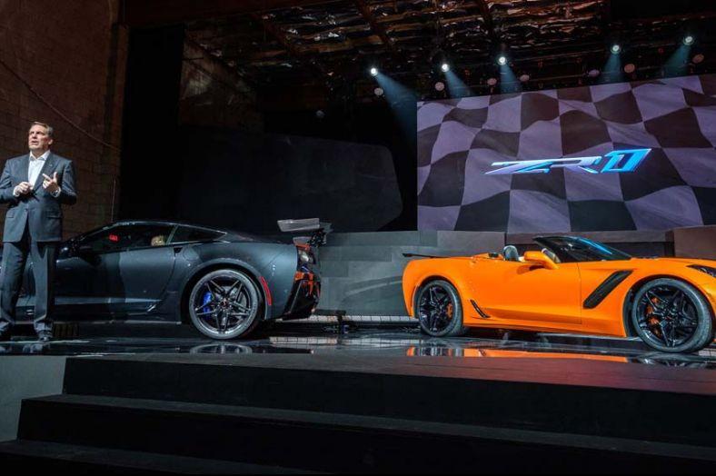 2019 Chevy Corvette ZR1快到孕吐0-402m加速僅需10.6秒