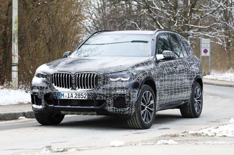 BMW X5這麼快測試大改款,究竟這是哪招呢?