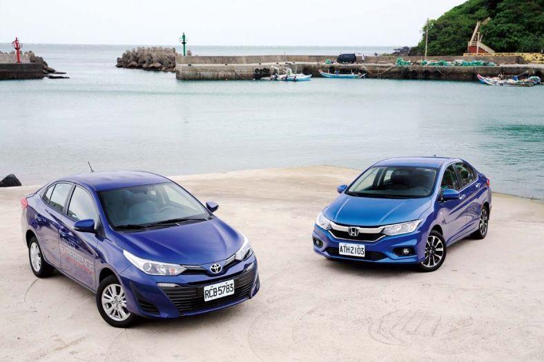 本質之戰 Toyota Vios vs. Honda City (1/3)內裝配備比較
