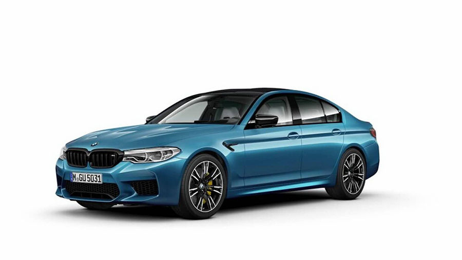 BMW M5 Competition Package的照片與部分訊息流出!