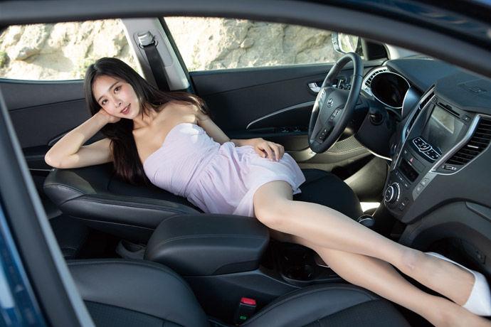 Motor Babe - Hyundai Santa Fe 2.2 領袖款    國產柴油首選