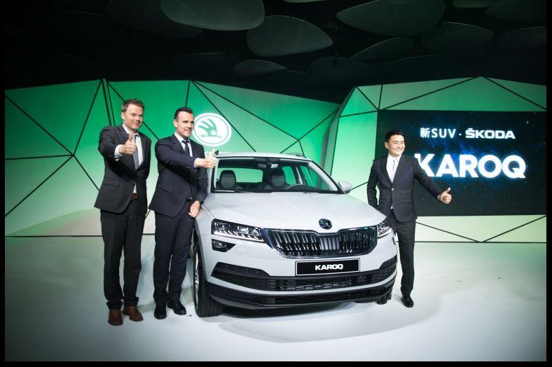 ŠKODA KAROQ在台上市繼KODIAQ之後第二款SUV家族新成員