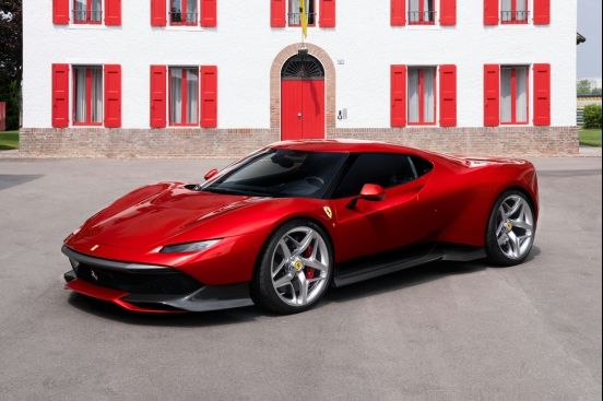 Ferrari SP38: 專屬One-Off項目最新力作