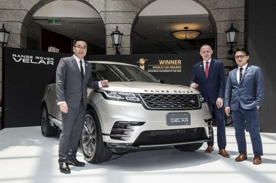 NEW Range Rover Velar 優雅登場