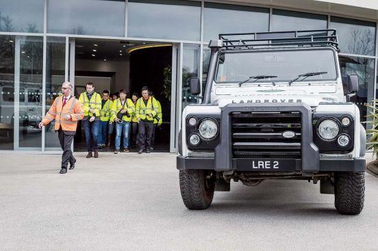 英倫逆襲Jaguar Land Rover原廠參訪