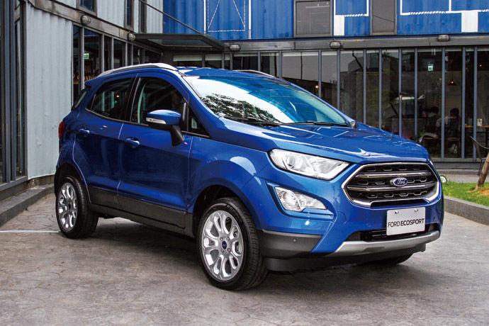 跨界小巨人    New Ford EcoSport