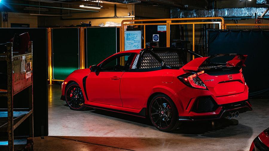 最速前驅貨卡!?以Honda Civic Type R改造而來的「Project P」參上!