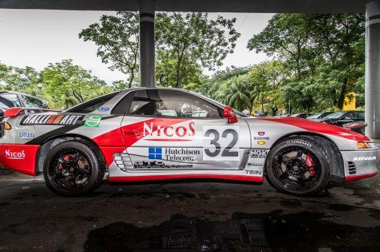 成龍的GTO(3/3)-沒有電影的賽車規格 至少要MR的引擎和變速箱吧!
