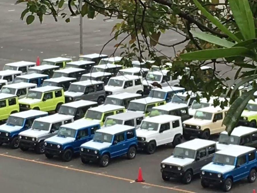 第四代Suzuki Jimny 實車現蹤!