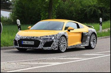 Audi R8雖然停止開發的傳言不斷,但是偽裝車還是出現了