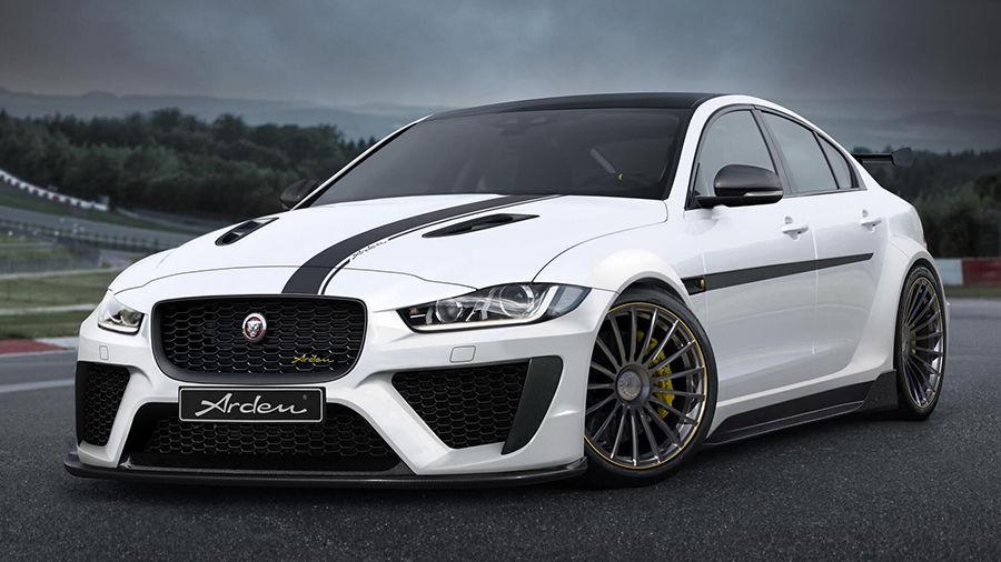 由德國Arden改造且擁有463HP的Jaguar XE應該是最接近XE SVR的車款了!