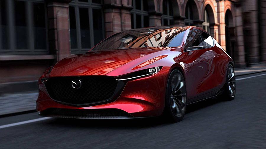 全新一代的Mazda 3將在洛杉磯車展上發表,而且將擁有與概念車相近的外觀設計?