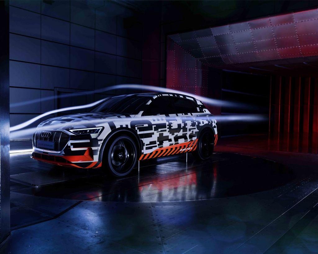 Audi e-tron prototype 創下SUV車款新境界 締造0.28Cd優異風阻表現