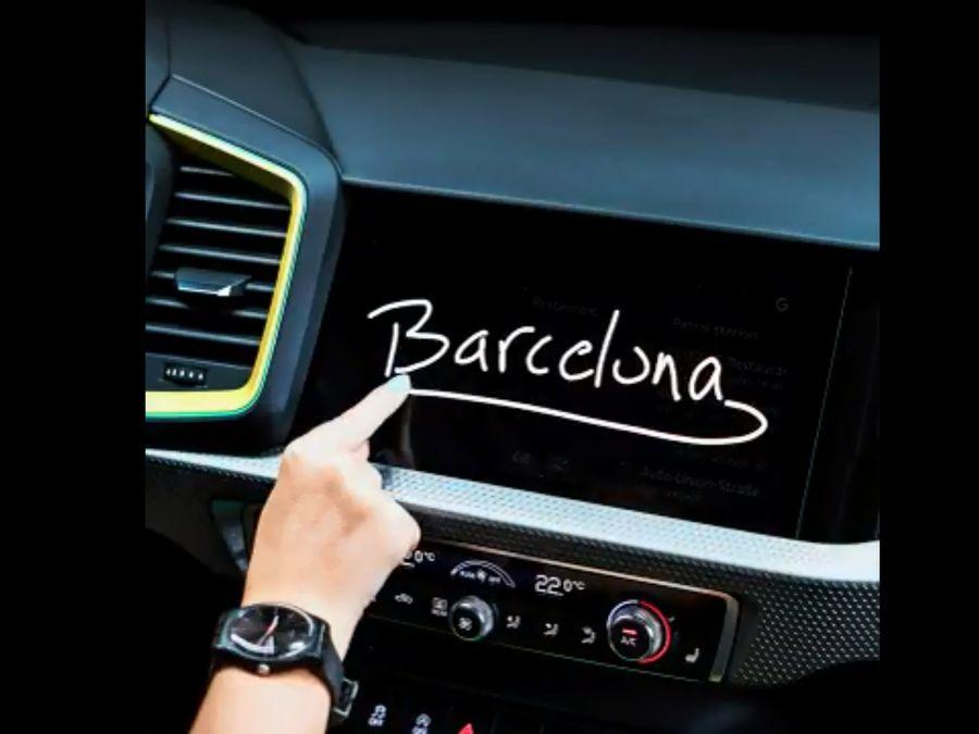 為上市鋪梗!Audi小露 A1內裝設計