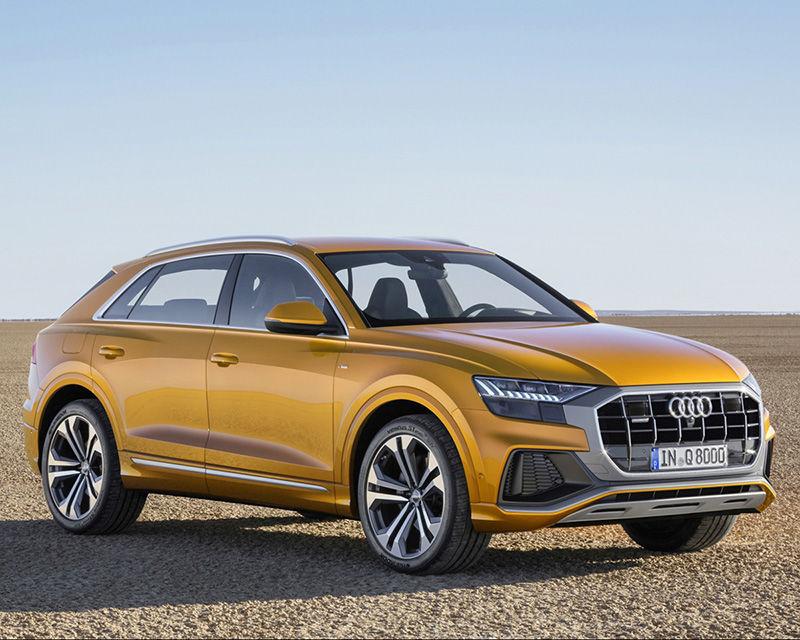 LSUV王者霸氣降臨!全新Audi Q8全球正式亮相
