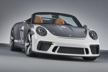 Porsche 911 Speedster Concept: 敞篷、純粹,最大馬力超越500 hp