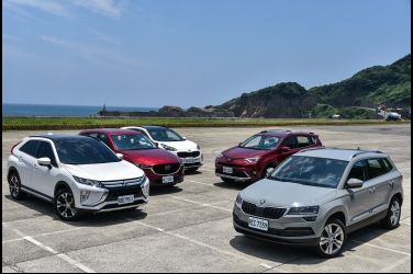 生存遊戲(上)  Skoda Karoq vs. Mazda CX-5 vs. Mitsubishi Eclipse Cross vs. Toyota RAV 4 vs. Kia Sportage