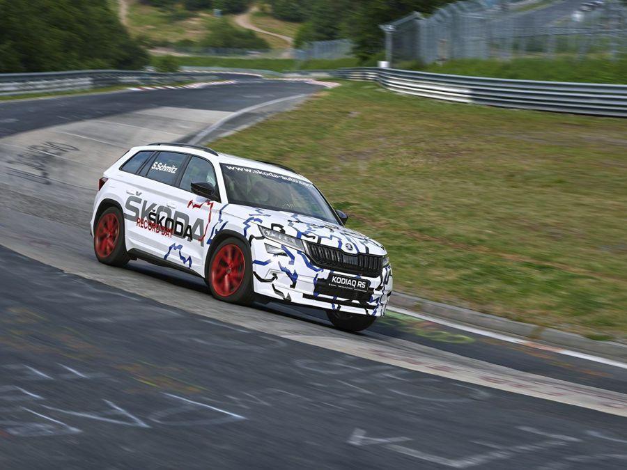 9分29.84秒!Skoda Kodiaq RS創下紐柏林7人座SUV最速紀錄!
