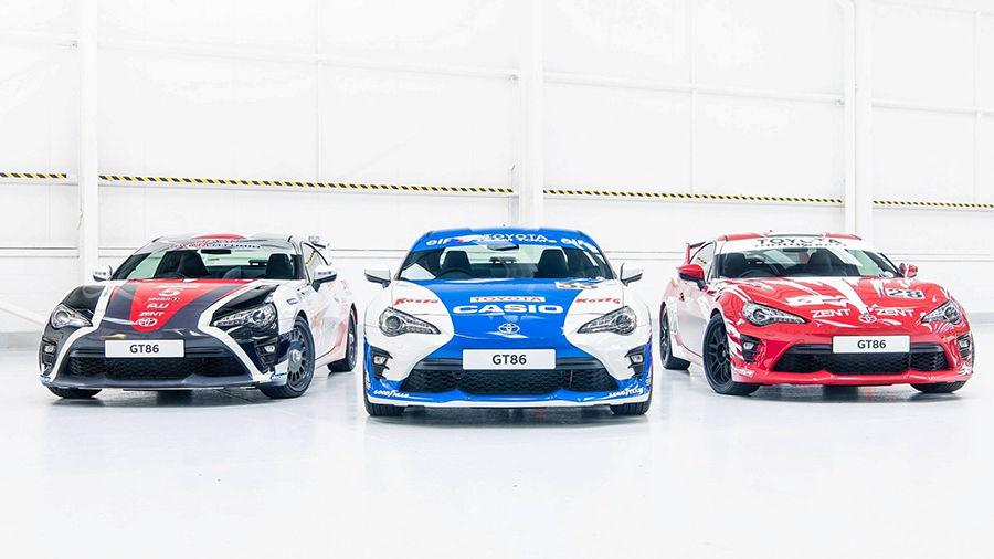 86戰隊!為了傳達對利曼賽事的熱愛,Toyota進行了3款改裝分別致敬