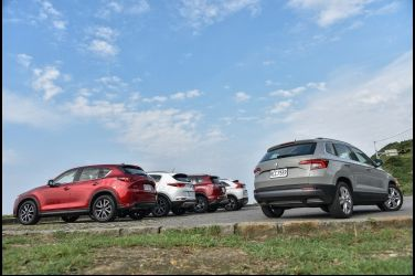 生存遊戲(下)  Skoda Karoq vs. Mazda CX-5 vs. Mitsubishi Eclipse Cross vs. Toyota RAV 4 vs. Kia Sportage
