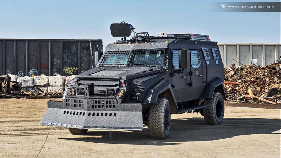 覺得MPV很無趣?超硬派的Inkas Sentry MPV讓人想直接來一輛!