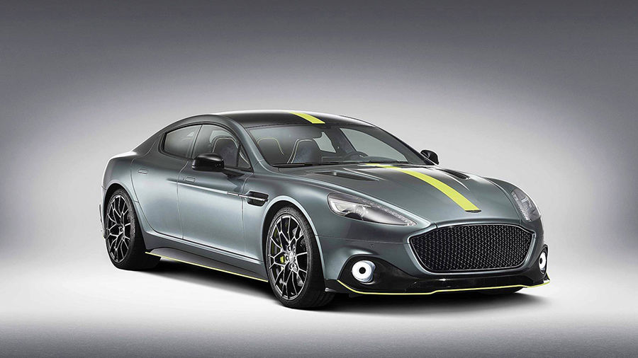 Aston Martin發表融合賽車風格與豪華身分的限量版Rapide AMR!